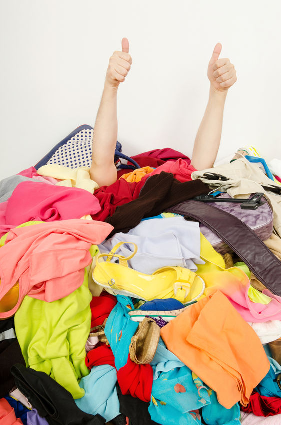 Image result for drowning in clothes