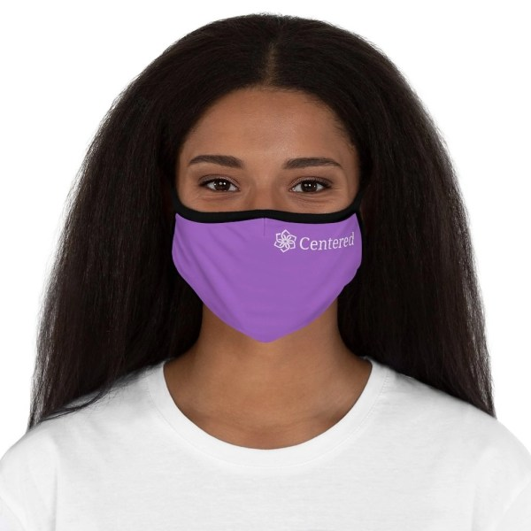 Fitted Polyester Face Mask Centered