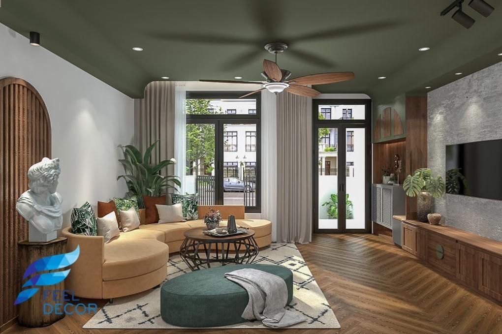 Hình ảnh Nhà phố Lakeview - Nguồn cảm hứng từ phong cách indochine độc đáo