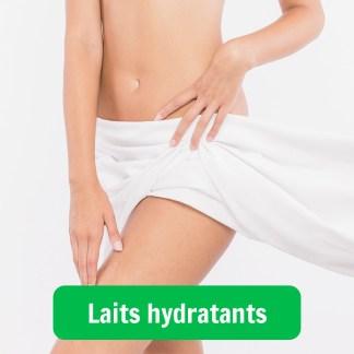 Laits hydratants
