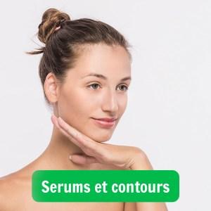 Image illustrant une femme qui s'applique un soin du visage