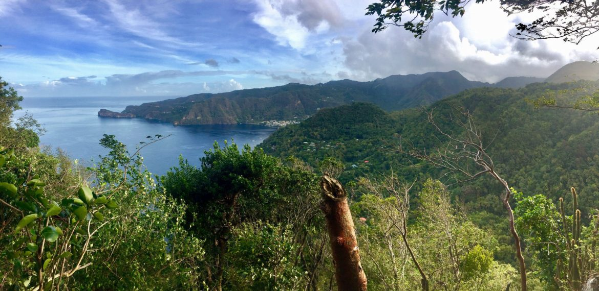 View from Petit Piton