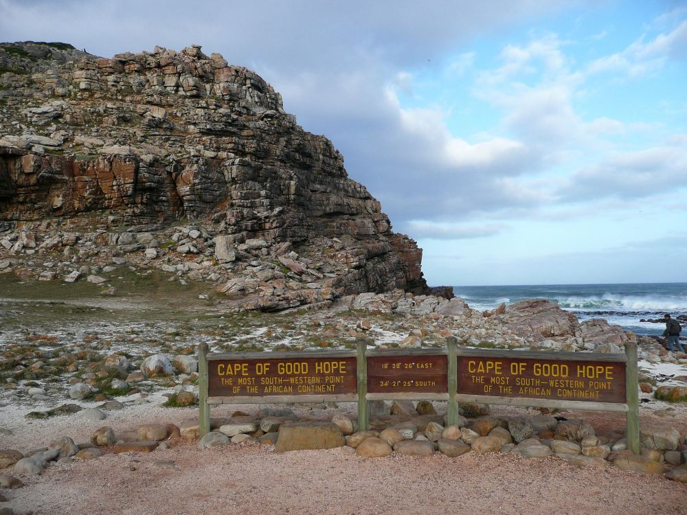 Sign at Cape of Good Hope