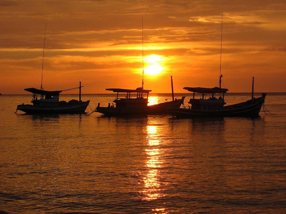 Sunset in Koh Tao, Thailand