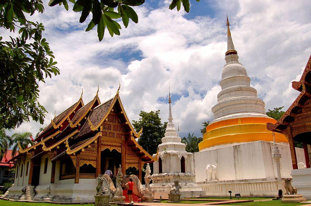 Wat Phra Sing in Chiang Mai, Thailand