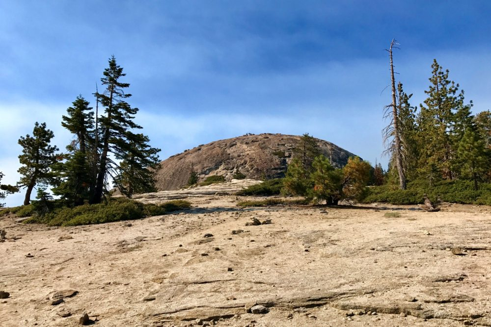 Getting closer to Sentinel Dome
