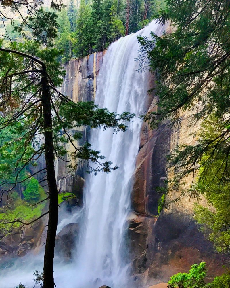 Vernal Fall from Mist Trail