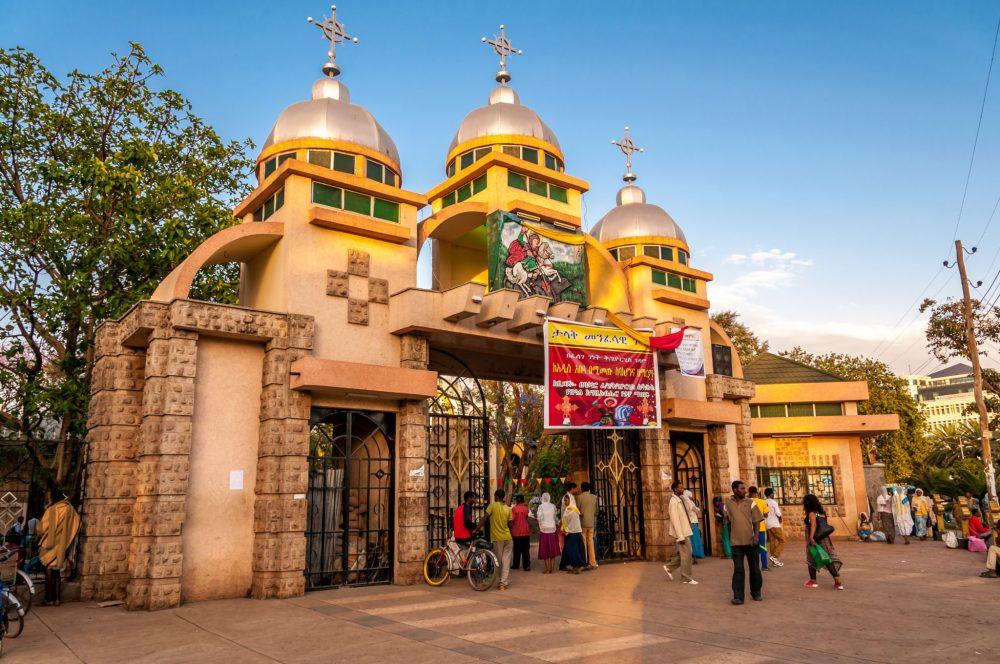 St. George church in Bahir Dar, Ethiopia