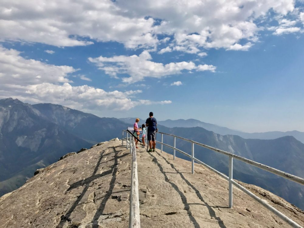 The top of Moro Rock