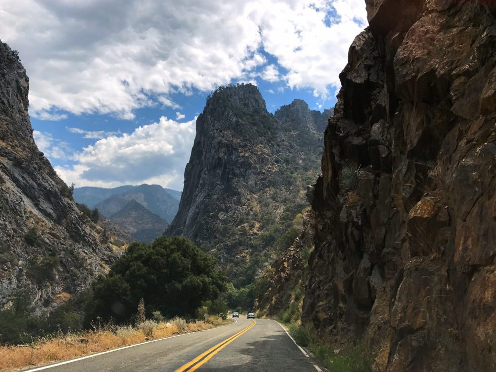 On the Kings Canyon Scenic Byway