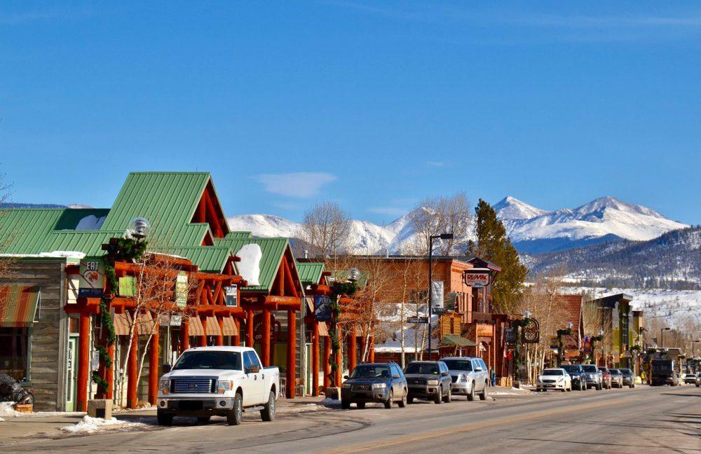 Downtown Frisco, Colorado