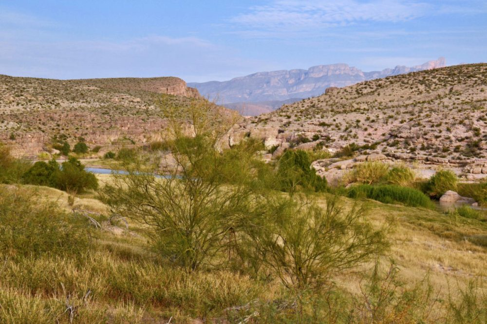 View from Hot Springs Trail in Big Bend