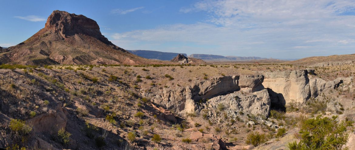 Tuff Canyon in Big Bend National Park