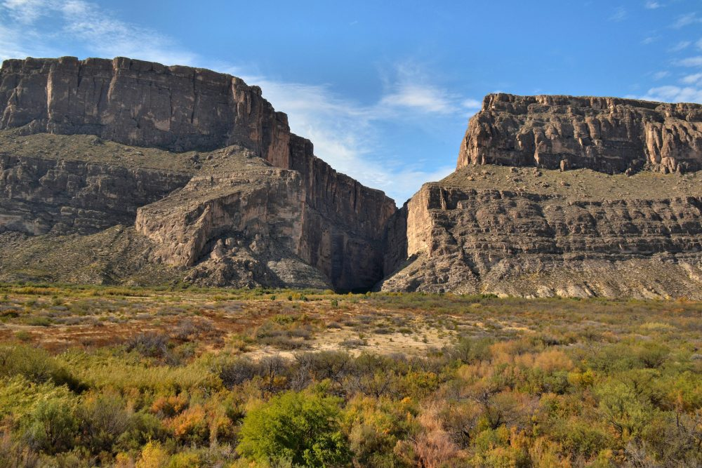 Santa Elena Canyon from the overlook
