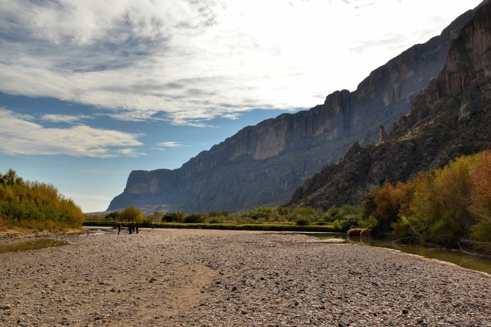 On Santa Elena Canyon Trail in Big Bend