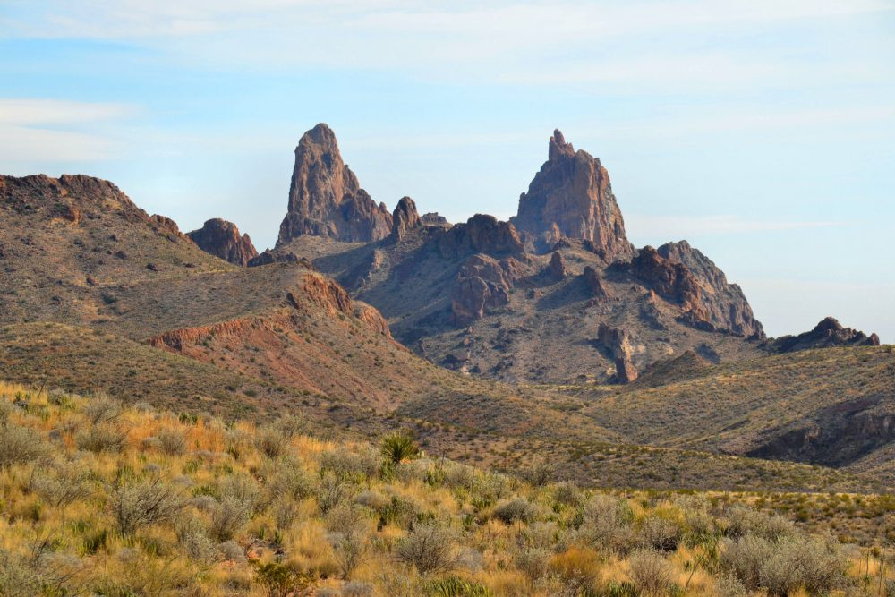 Mule Ears in Big Bend National Park