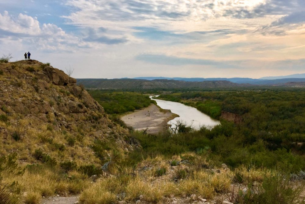 View of Rio Grande River from Boquillas Canyon Trail