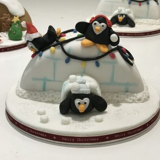 Christmas Cake Penguins