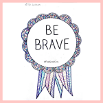 Illustrated Feel Good Com Be Brave Award