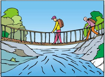Crossing Bridge