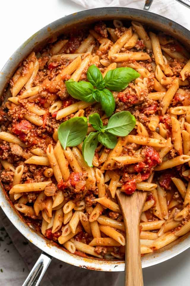 Pasta Bolognese | FeelGoodFoodie