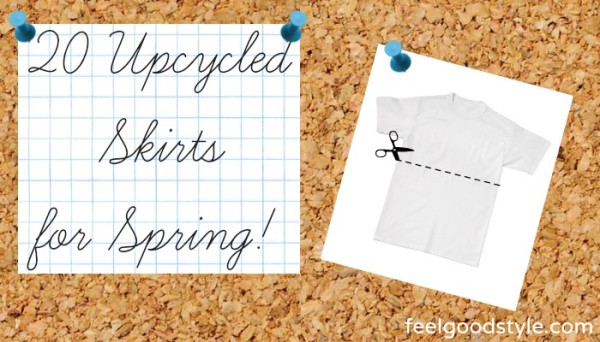 DIY Fashion 20 Upcycled Skirts for Spring