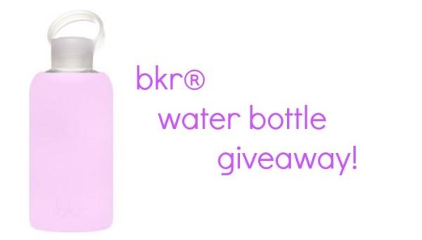 bkr water bottle giveaway