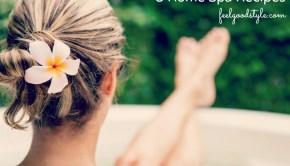 5 Home Spa Recipes