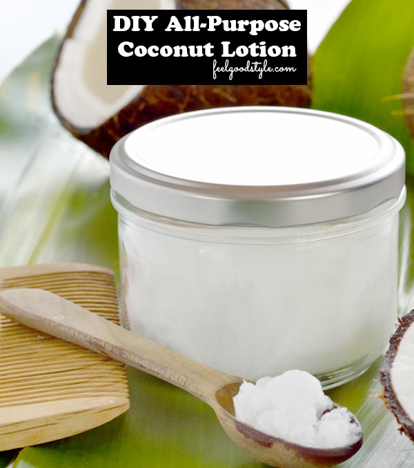 DIY Coconut Oil Lotion