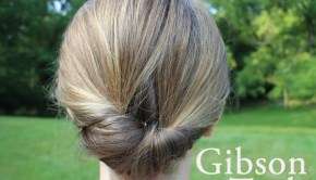 Easy hair tutorial: The Gibson Tuck