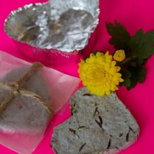 Valentine Idea: Seed Paper Hearts
