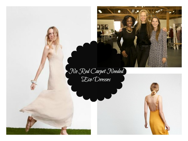 """Red Carpet Green Dress + Reformation = """"No Red Carpet Needed"""" Line of Eco-Dresses"""