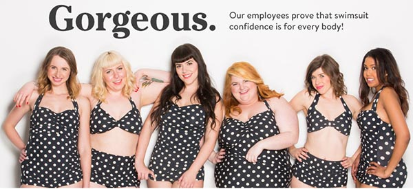 New ModCloth Swimwear Line Loves Women of All Sizes