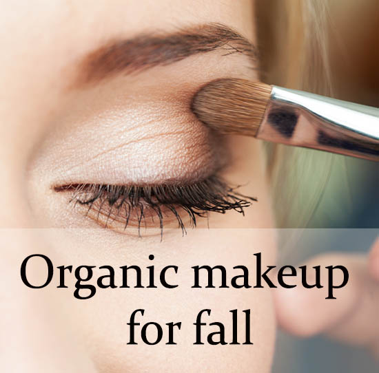Best organic makeup for fall 2015!