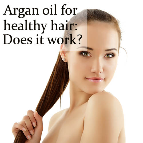 argan oil for healthy hair