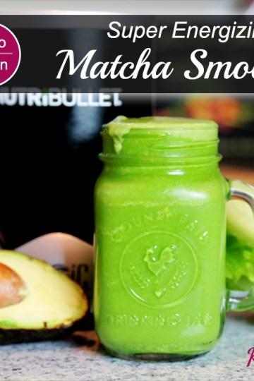 Energizing Matcha Smoothie