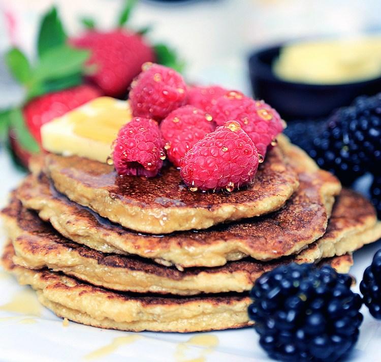 Gluten free Coconut Flour Pancakes   Low Carb Pancakes