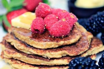 Gluten free Coconut Flour Pancakes | Low Carb Pancakes