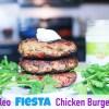 Paleo Fiesta Chicken Burgers | Paleo Lunch Recipes