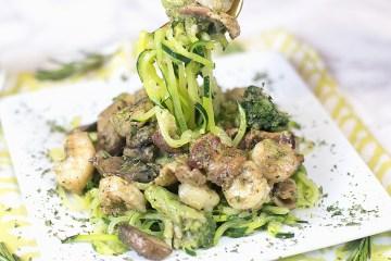 Keto Zucchini Noodle Recipe | How to Make Zucchini Noodles