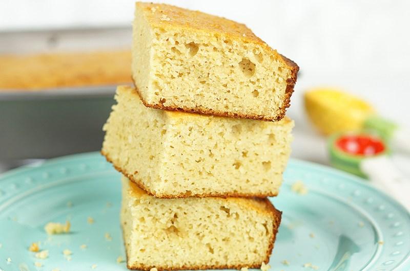 Southern-Style Sweet 'Cornbread' (Gluten Free & Paleo)