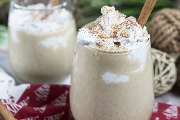 Low Carb Keto Eggnog | Dairy Free Eggnog