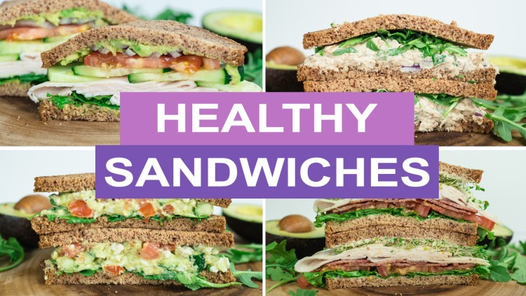 Healthy Low Carb Sandwich Recipes for Lunch