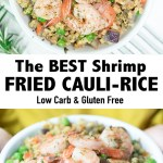 Low Carb Cauliflower Fried Rice with Shrimp Recipe