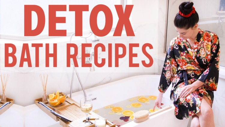 Detox Bath Recipes for Weight Loss