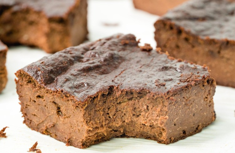 3-Ingredient Fudgy Brownies | Healthy Brownie Recipe