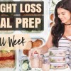 Healthy Meal Prep for Weight Loss | 5-Day Menu + Grocery List