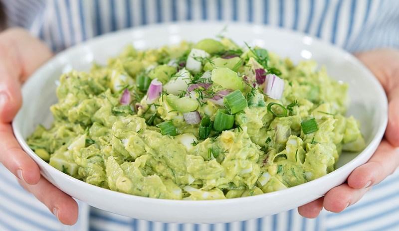 Avocado Egg Salad Recipe | Healthy Lunch Ideas