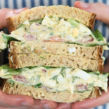 The BEST Egg Salad Recipe (made healthier)