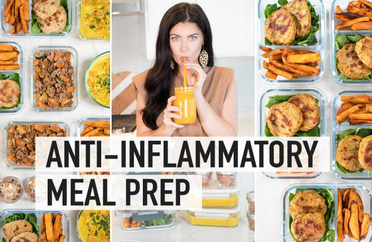 ANTI-INFLAMMATORY MEAL PREP RECIPES